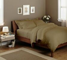 THREAD TREASUREs SOFT TAUPE SOLID BEDDING COLLECTION 1000TC 100% COTTON - TP02