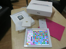 Apple iPad 2 16GB, Wi-Fi + 3G, 9.7in - Silver Tablet - Great Condition !
