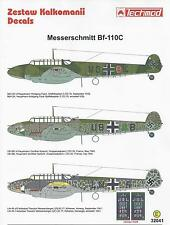 Messerschmitt Bf-110C 1/32 scale 32041 Techmod decals
