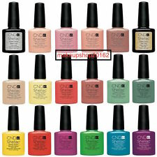 2016 CND Shellac UV Nail Polish Choose from Colours Base/Top Coat/Xpress5/ 15ml