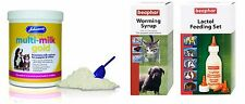 Johnsons Multi-Milk Gold 500g & choice of Beaphar Feeding Set or Worming Syrup