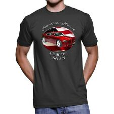 Dodge Charger SRT8 American Muscle Men`s Dark T-Shirt