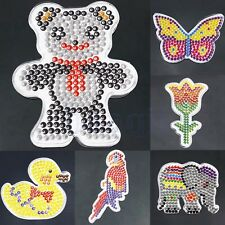 Animal Clear Pegboard Template for DIY Fuse Perler Beads Accessories Kid Toy MA