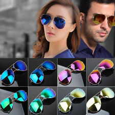Unisex Women Men Vintage Retro Fashion Mirror Lens Sunglasses Glasses DP