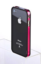 New Fashion Bumper Frame TPU Silicone Case cover Skin for Apple iPhone 4 4S 4G