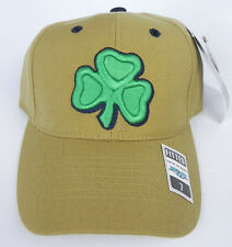 NOTRE DAME FIGHTING IRISH GOLD NCAA VINTAGE FITTED SIZED TOW CAP HAT NWT!