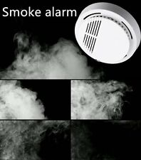 New 10pcs Cordless Fire Smoke Detector Alarm Photoelectric Smoke Warning Battery
