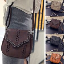Women Shoulder Bag Leather Handbag Hobo Tote Purse Satchel Messenger Bag ESY1