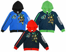 Boys Official Gormiti Monster Zipper Hooded Sweat Jacket Top 4 to 8 Years