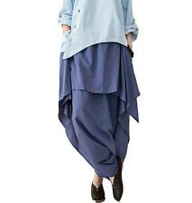 Chic Fashion Women Vintage Casual harem Pants Trousers Loose COTTON&LINEN