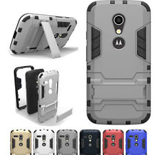 Motorola Moto G 4TH Gen Case 3RD 2ND G2 G3 G4 Cover Shockproof Kickstand For