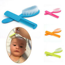 2Pcs Baby Safety Soft Hair Brush Set Infant Comb Grooming Shower Design Pack Aga