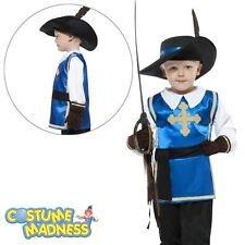 Musketeer Child Costume- Child Boy Outfit Fancy Dress