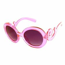 KIDS Girls BAROQUE Fashion Round Frame Glasses Sunglasses 5 Styles (Age 3-10)