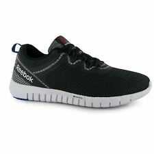 Reebok Z Rated Quick Lite Running Shoes Mens Black/Steel/Blue Trainers Sneakers