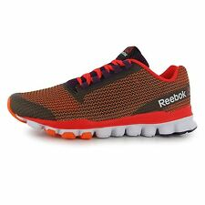 Reebok HexAffect Storm Running Shoes Womens Peach/Red Fitness Trainers Sneakers