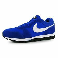 Nike MD Runner Trainers Mens Blue/White Casual Sneakers Shoes Footwear