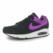 Nike Air Max Ivo Training Shoes Womens Black/Violet Fitness Trainers Sneakers