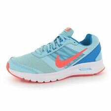 Nike Air Relentless 5 Fitness Trainers Womens Blue/Orange Gym Sneakers Shoes