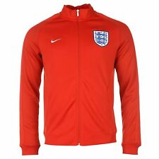 Nike England N98 Jacket Mens Red Football Soccer Track Top