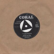 Jackie Wilson - I'll Be Satisfied / Ask - Coral 45-Q 72372 - Northern Soul Cross