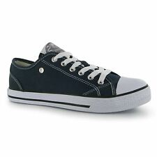 Dunlop Canvas Casual Trainers Womens Navy Sneakers Shoes Footwear