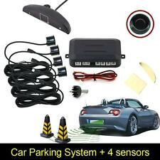 4 Parking Sensors LED Display Auto Backup Reverse Radar System Alarm Kit DP