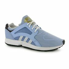 Adidas Originals Racer Lite Running Shoes Womens Blue/White Trainers Sneakers