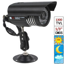 HD 1300TVL 36X IR LEDs 3.6mm Lens CMOS CCTV Security Camera Waterproof Day Night