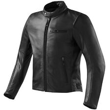 MEN GENUINE LEATHER JACKET MOTORCYCLE BIKER JACKET MOTORBIKE LEATHER JACKETS