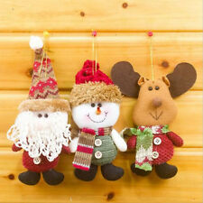 New Christmas Santa Claus Ornaments Festival Gift Toys Xmas Tree Hanging Decor