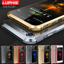 Luphie Slim Thin Aluminum CNC Armor Frame Bumper Cover Case For iPhone 7&7 Plus