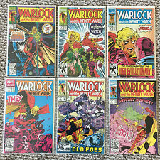 Warlock and the Infinity Watch 1 - 11 and 13 (1992 1993 Marvel) Lot of 12 Comics