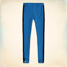 SALE -70% HOLLISTER Ladies' High Rise Leggings - Light Blue