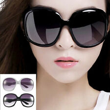 Retro Women's Men's Eyewear Fashion Sunglasses Oversized Shades Classic Glass DE