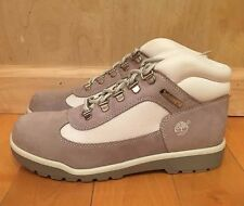 TIMBERLAND FIELD BOOT GREY WHITE VINTAGE GS KIDS YOUTH SZ 4-7 Y  41966