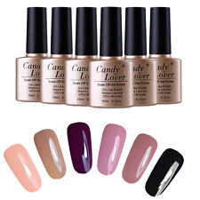 6PCS /Lot Gel Nail Polish Set Soak off Gel UV led lamp Nail Art Lacquer Manicure