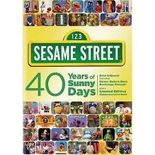 *BRAND NEW & SEALED!* ~ Sesame Street: 40 Years of Sunny Days (DVD Box Set)
