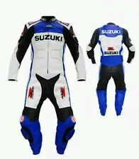 GSXR SUZUKI LEATHER SUIT MOTORBIKE/MOTORCYCLE LEATHER SUIT MEN JACKET TROUSER