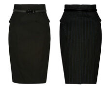 BNWT CUE sculpted highwaist work skirt Sz 8 RRP$199 last!