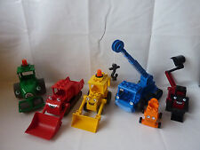 LEGO Duplo Bob the builder - Baggi, Heppo, Bottle, Benny, Mixi selection of
