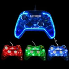 New Glow Light USB Wired Gamepad For Xbox 360/ xBox One Game Consoles Controller