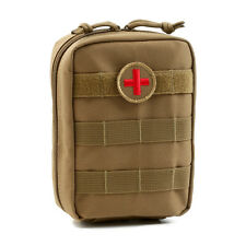 Orca Tactical MOLLE EMT First Aid Pouch - Coyote Brown