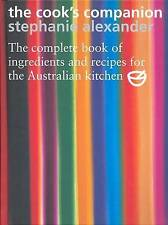 NEW The Cook's Companion By Stephanie Alexander Hardcover - Brand New.  RRP $130