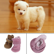 Hot Winter Warm Pet Dog Shoes Anti Slip Snow Boots For Small Pet Puppy lot DP