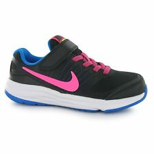 Nike Fusion X Trainers Junior Girls Black/Pink Sports Shoes Sneakers Footwear