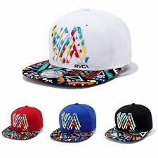 Adjustable Unisex Mens Womens Embroidery Snapback Baseball Cap Hip-Hop Flat Hats