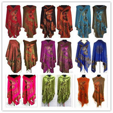 wholesale Fashion Chinese Lady Double-Side Butterfly Pashmina Scarf Wrap Shawl