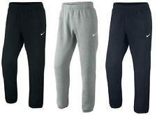 Nike Mens Fleece Jog Pants Swoosh Club Tracksuit Bottoms Joggers Cuffed Pant New