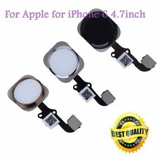 2017 New Touch ID Sensor Home Button Key Flex Cable Replacement for iPhone 6 XP